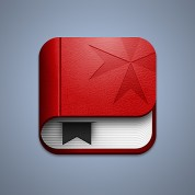 Screenshot of the Big Red Book iOS icon.