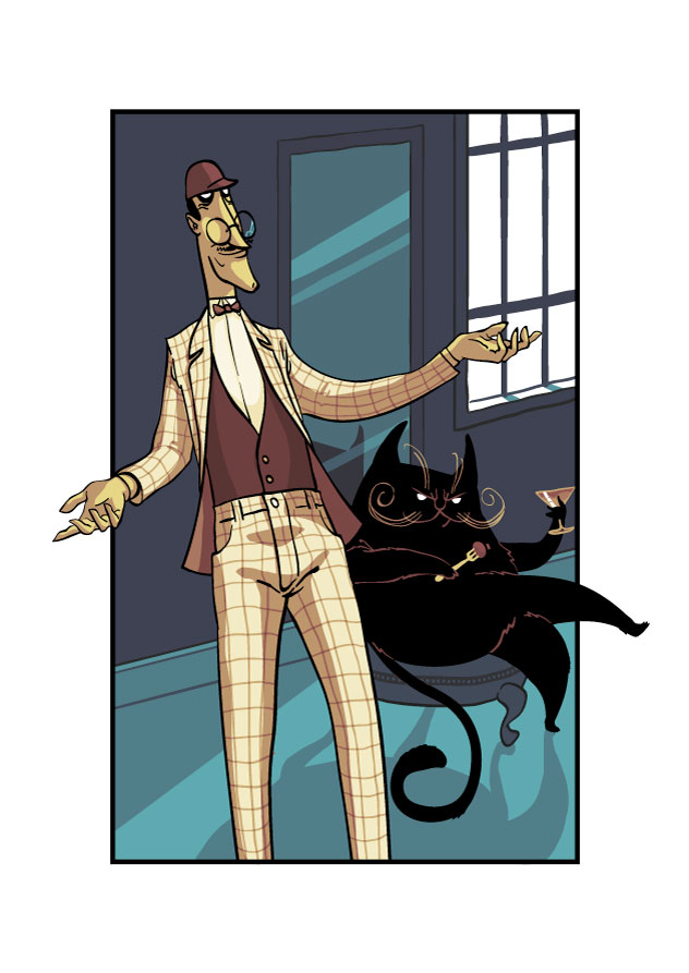 Illustration for The Master and Margarita by Mikhail Bulgakov