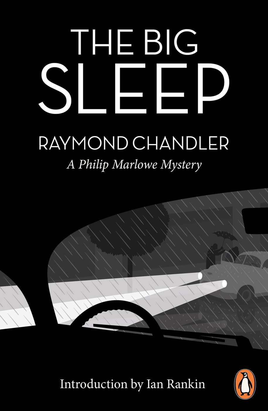 The Big Sleep book cover design by Jason Hibbs for the Penguin Design Awards