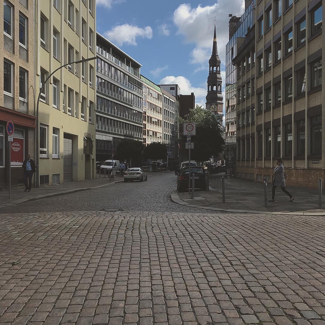 Just a #street in #hamburg